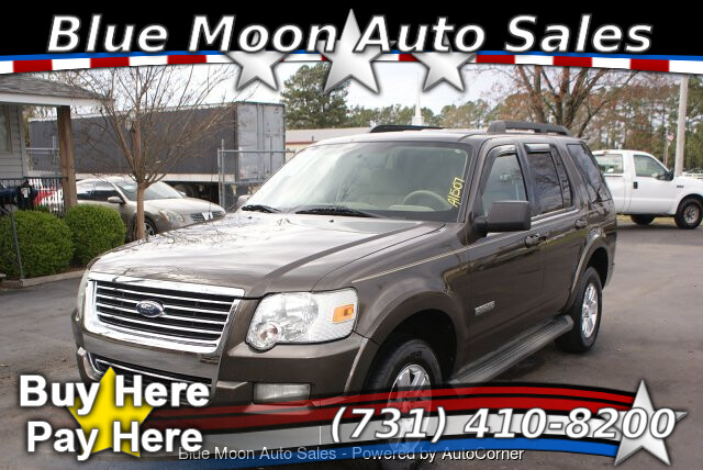 2008 Ford Explorer XLT 4.0L 4WD 5-Speed Automatic
