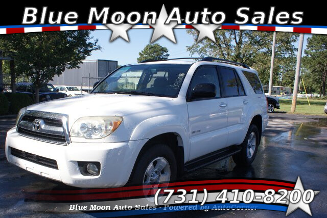 2007 Toyota 4Runner SR5 4WD 5-Speed Automatic